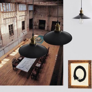 lampe de suspension rétro déco