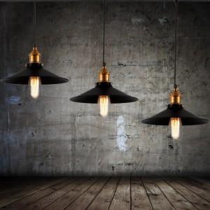 Lampe suspendue métal originale