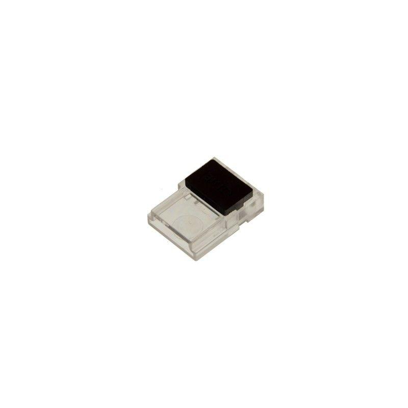 Connecteur clip 2 broches ruban à câble PCB 10mm