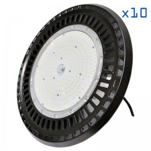 Pack 10 gamelles LED 100W