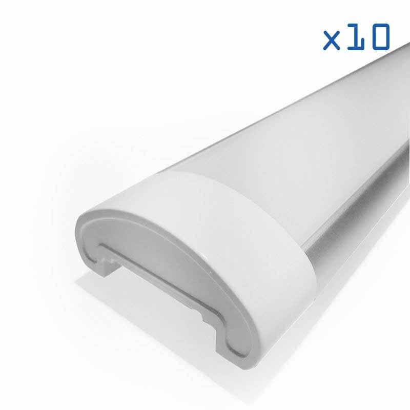 Pack 10 linéaires LED 60W 150cm