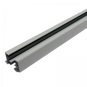 Rail monophasé de surface, 200 cm