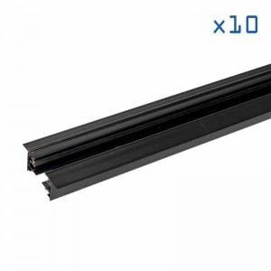 Pack 10 rails (2m) 1 phase encastrable