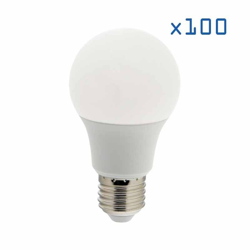 Pack 100 ampoules E27 9W