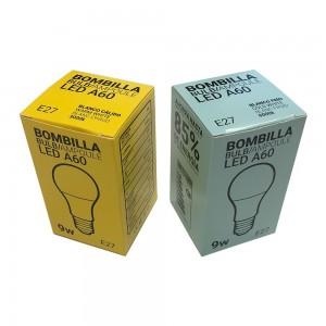 Ampoule LED E27 9W A60