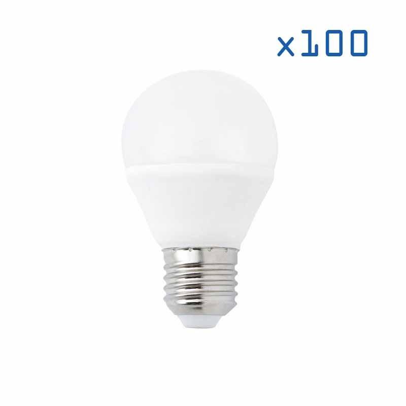 Pack 100 ampoules E27 4W B45