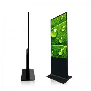 Totem publicitaire LCD Full HD 55 pouces
