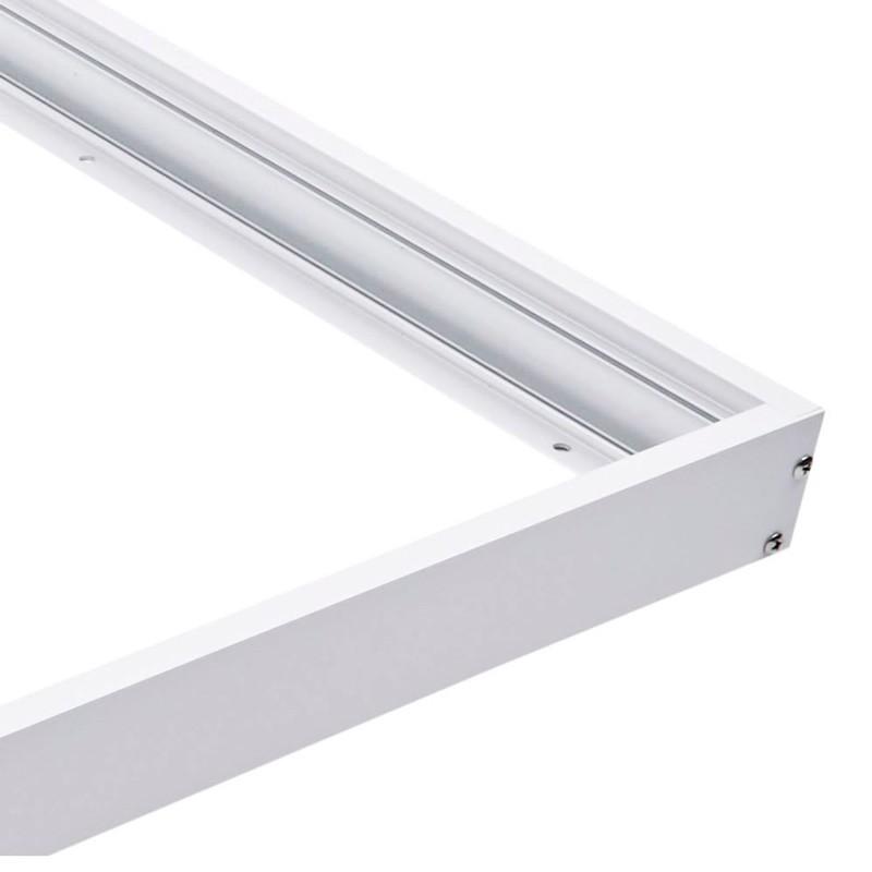Kit cadre saillie panneau LED 120x30 extra plat