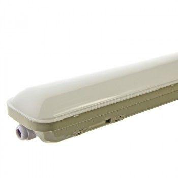 Luminaire LED étanche IP65 48W 150 cm Blanc Froid