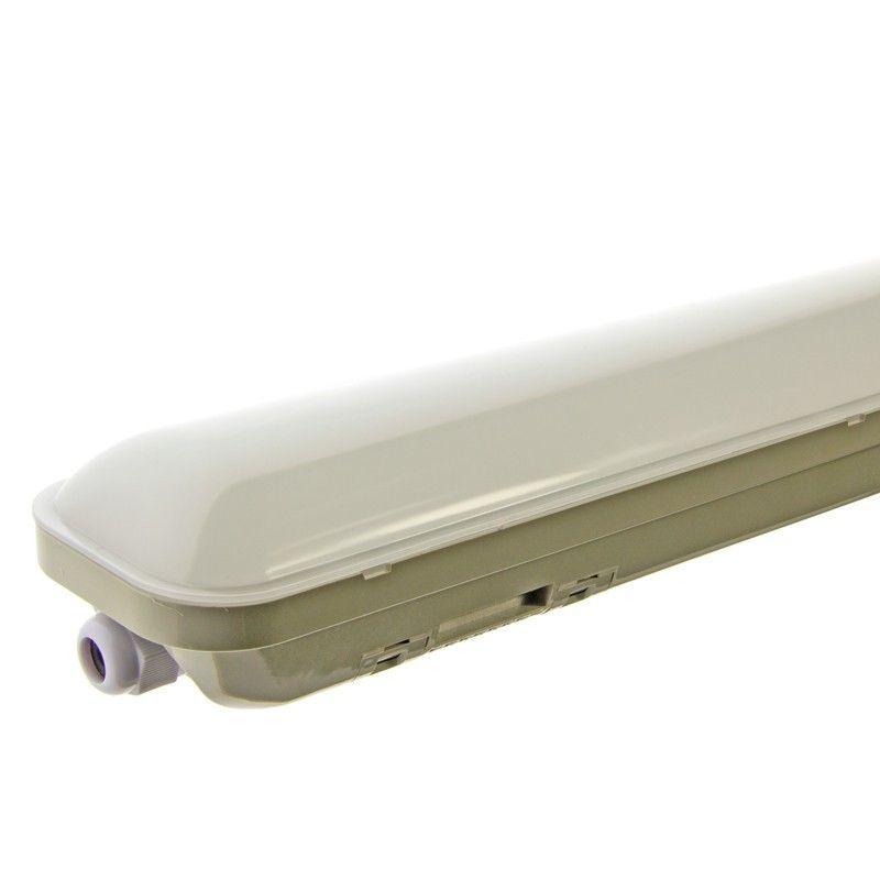 Luminaire LED étanche IP65 18W 60 cm Blanc Froid