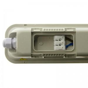 Luminaire LED étanche IP65 36W 120 cm avec détecteur de mouvement