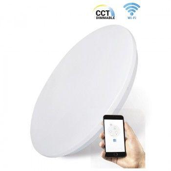 Plafonnier LED Smart WiFi 24W CCT