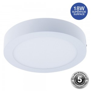 Spot LED 18W saillie rond