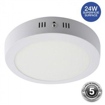 Plafonnier LED 24W rond