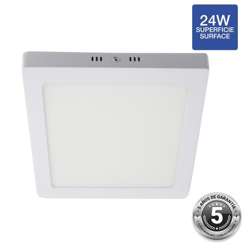 Plafonnier LED 24W carré