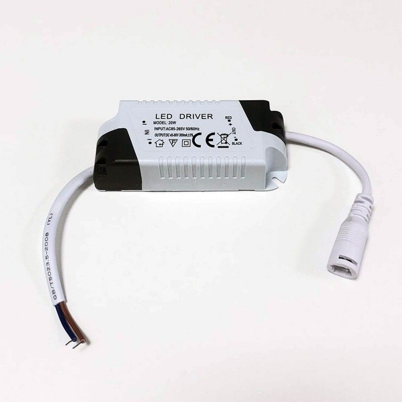 Driver pour Downlight 20W Non Dimmable