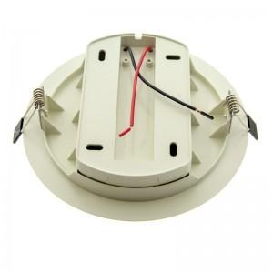 Adaptateur encastrable spot LED sur rail monophasé