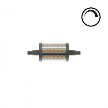 Ampoule LED R7S 78mm 7W régulable