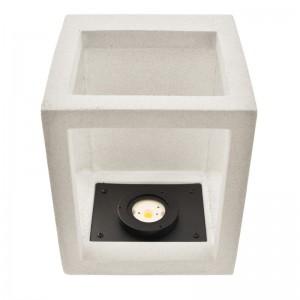 Lampe saillie moderne blanche extérieur