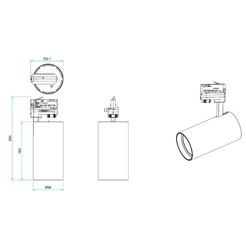 Bombilla reflectora LED R90 E27 12W