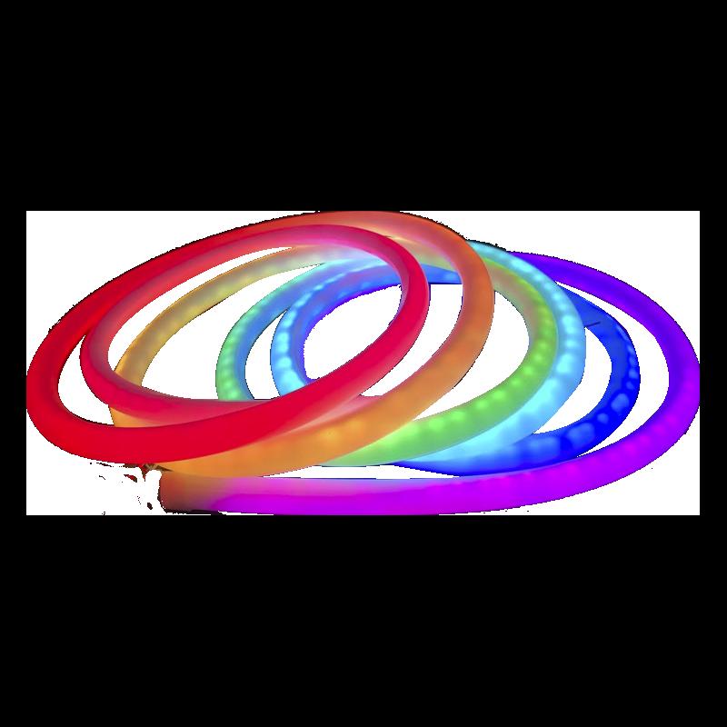 Néon fléxible LED RGB 50W IP67 10x10mm - 5 mètres