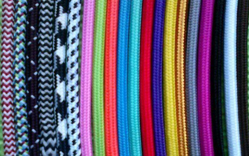 Câbles textiles : plus besoin de cacher vos câbles électriques !