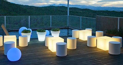Mobilier LED : l'éclairage des temps modernes