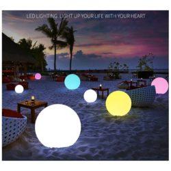 Boule lumineuse LED RGBW