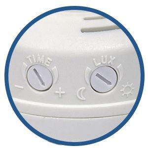Porte ampoule E27 capteur présence PIR led