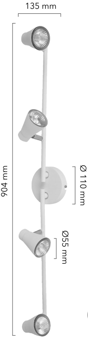 plafonnier Neste dimensions