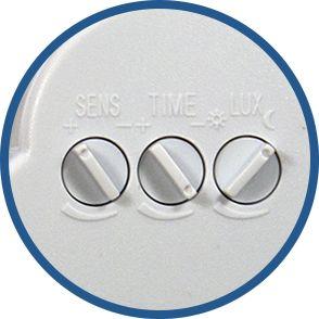 reglage detecteur PIR porte ampoule E27