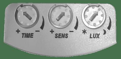 reglage capteur de mouvement micro-ondes
