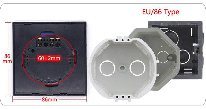 interrupteur tactile intelligente