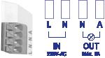 câblage capteur de mouvement hyperfréquence