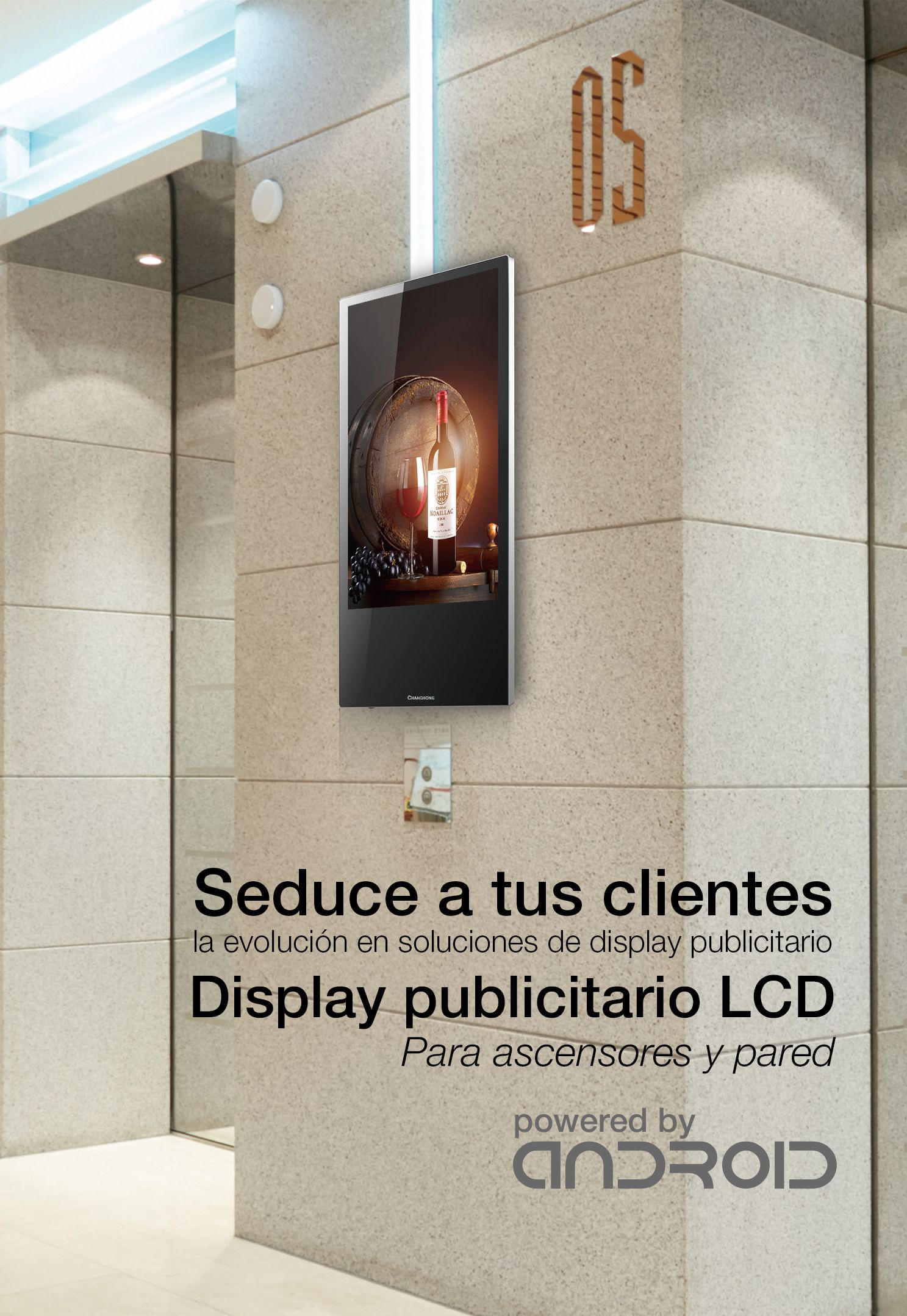 Acheter Display Lcd Full Hd 20 Pouces Pour Murascenseurs