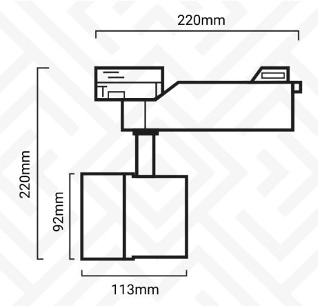 dimensions projecteur 40w.png