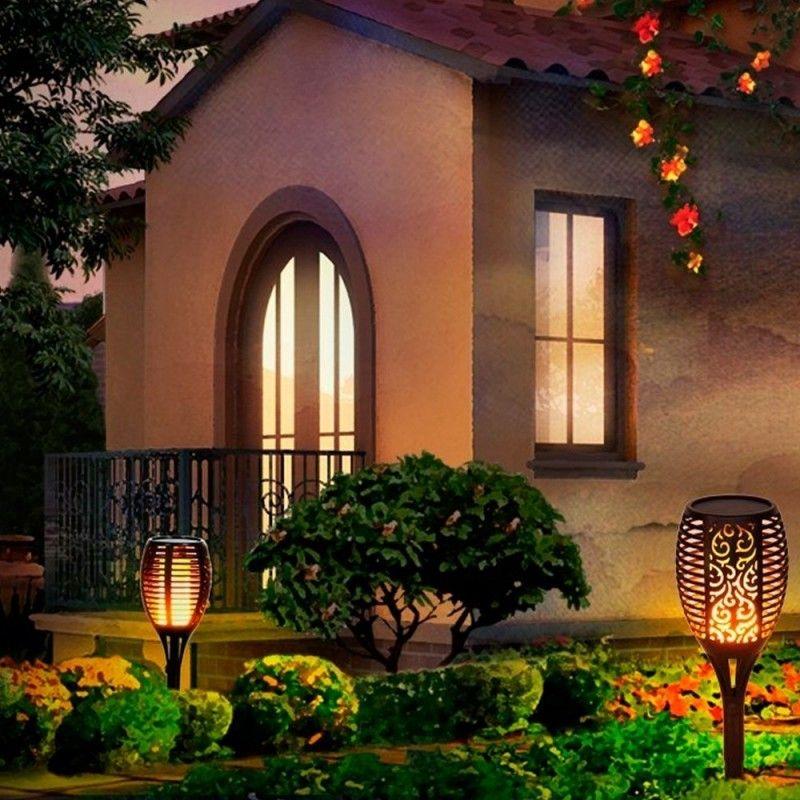flambeau led décoration extérieur