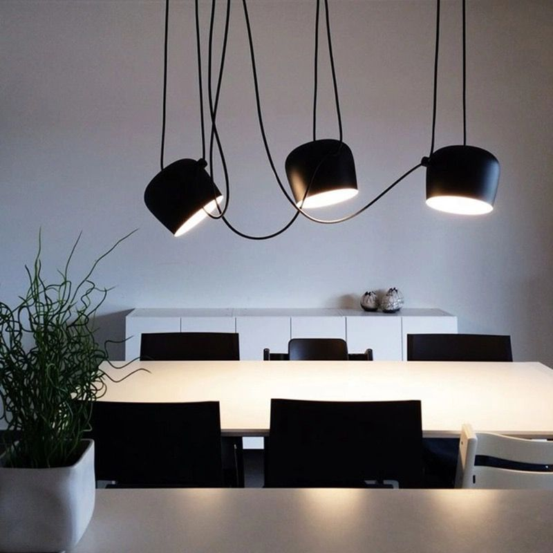 supension moderne barcelona LED
