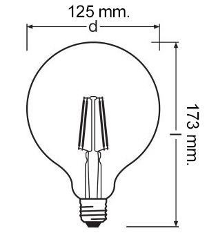 ampoule led Osram filament dimmable