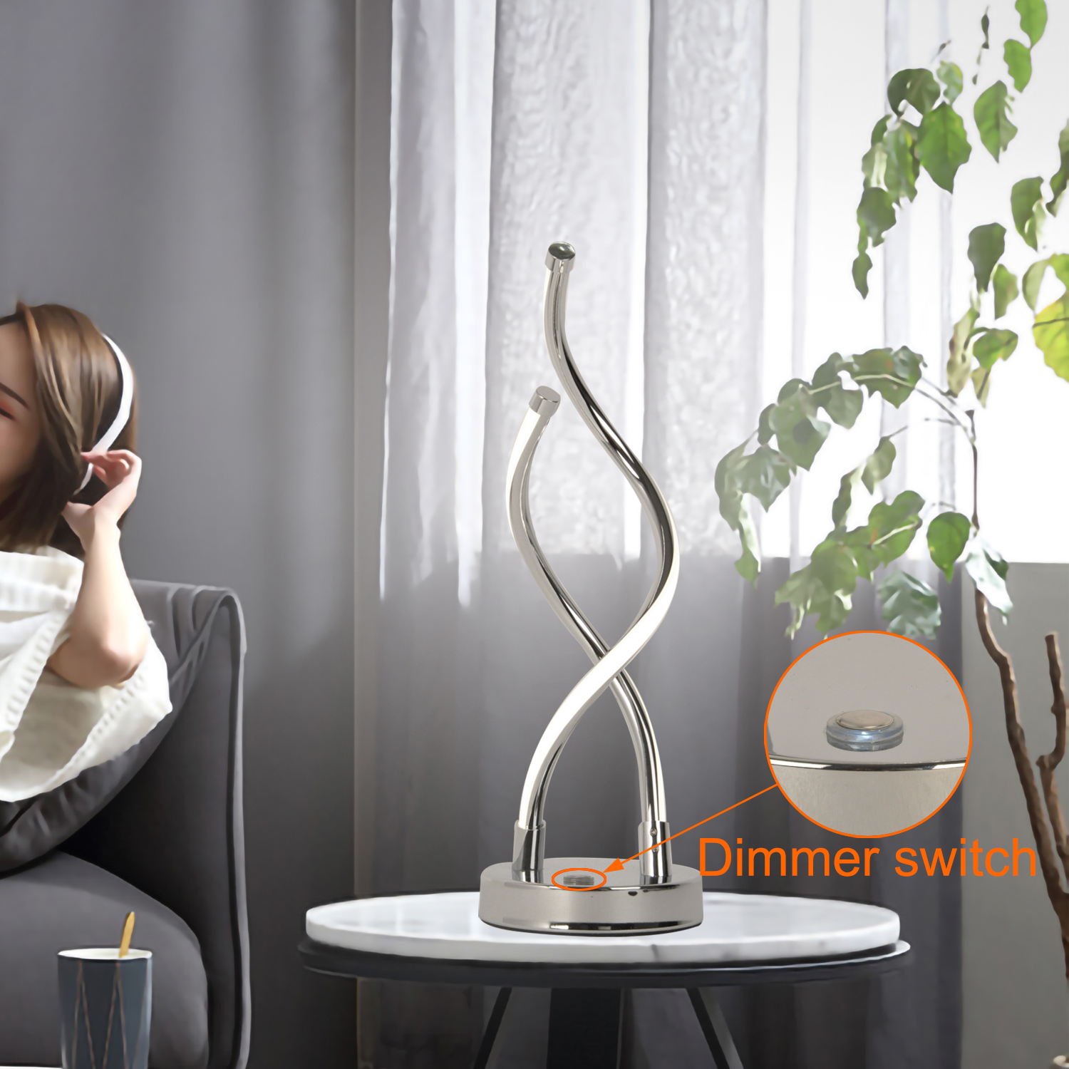 lampe table dimmable