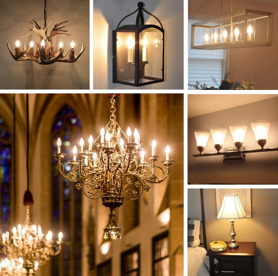 décoration ampoule LED filament clear