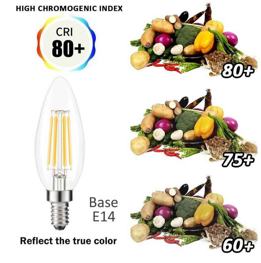 ampoule led filament clear 6w