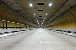 tunnel light proyecto led