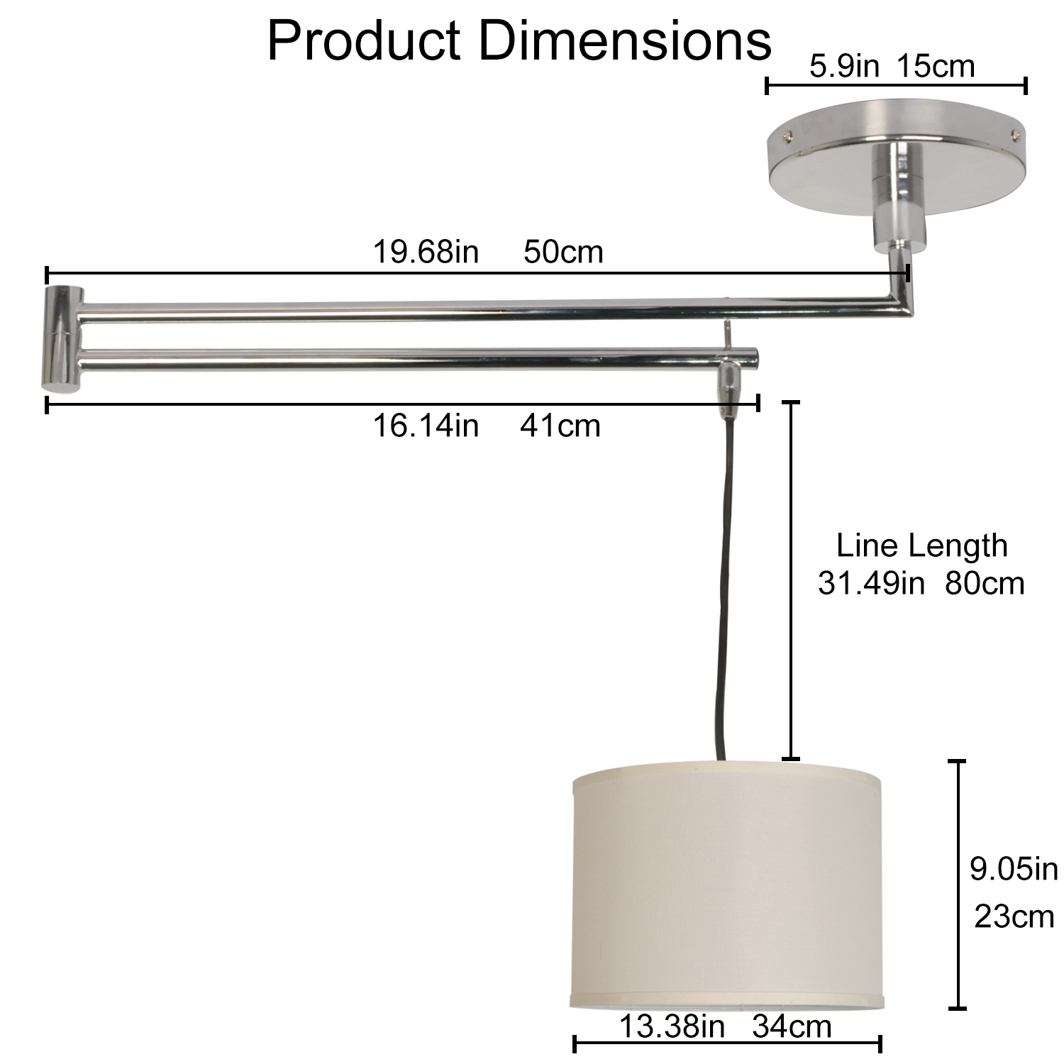 suspension neck dimensions