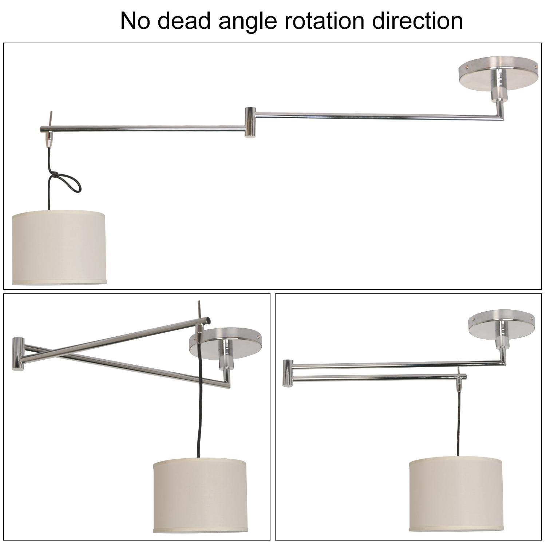 lampe suspendue articulée LED