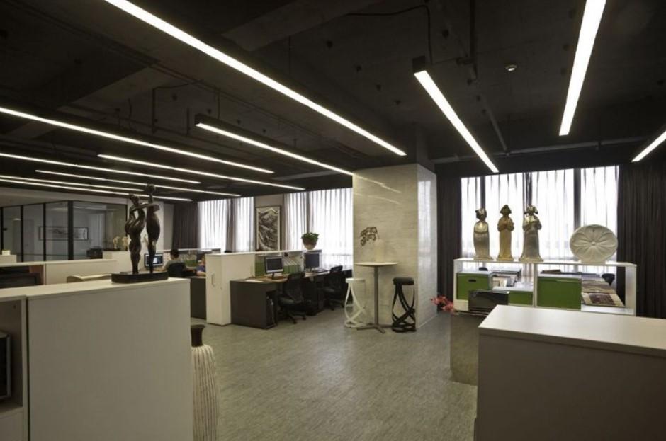 Suspensions linéaire LED 120cm bureau