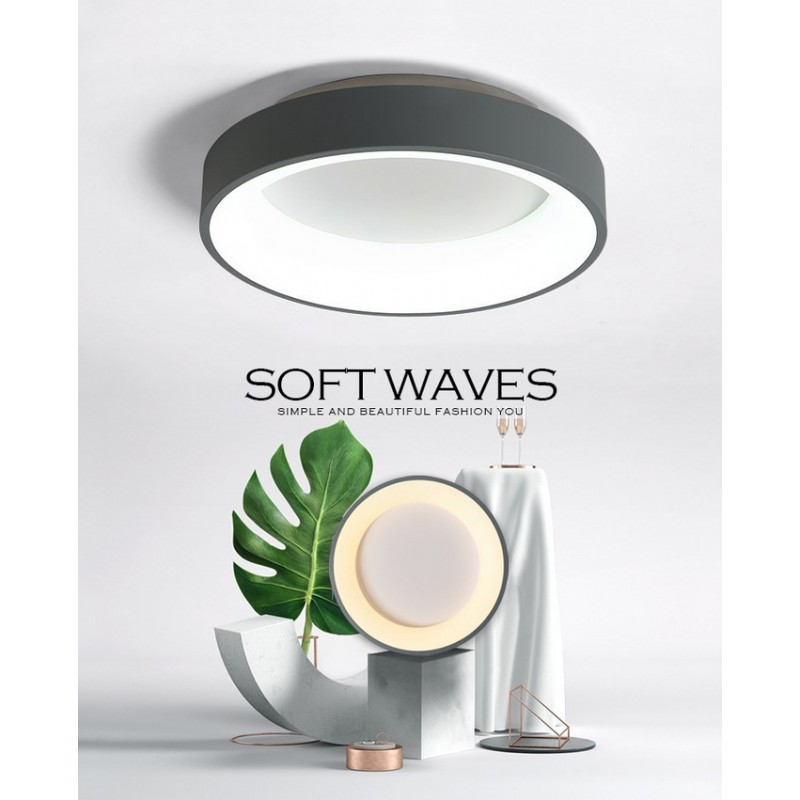 plafonnier LED design rond