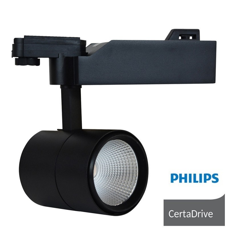 projecteur led sur rail