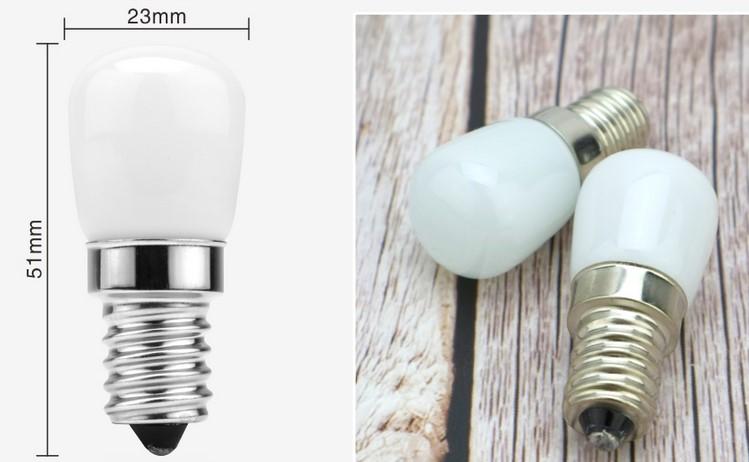 ampoule 2W E14 réfrigérateur
