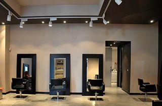 spot led monophasé 30w salon de coiffure